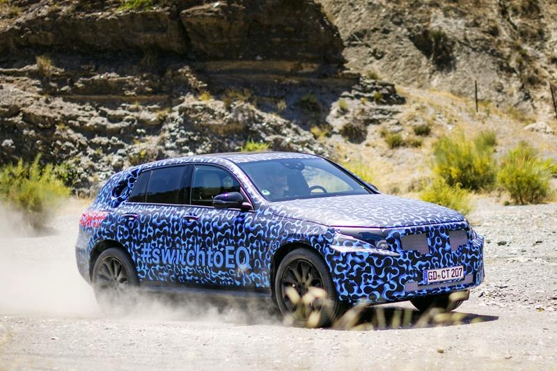 Mercedes EQC pruebas